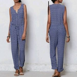 Anthropologie Lilka Dao Ikat Jumpsuit